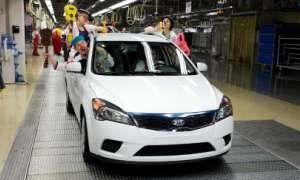 Киа произвел миллиардный авто в Европе