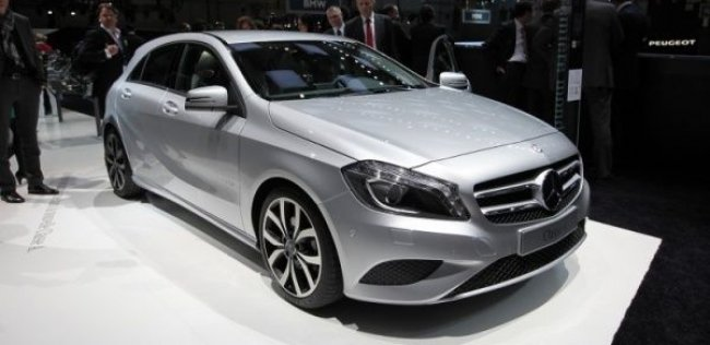Mercedes-Benz перестал скрывать новый хэтчбек A-Class