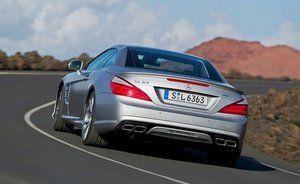 Mercedes-Benz представит новый SL 65 AMG в Нью-Йорке