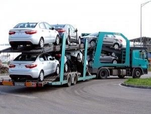 Украина может ввести пошлины на автомобили из России