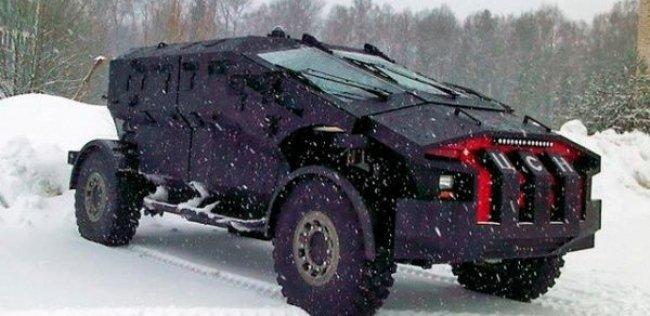 МВД России тестирует новый штурмовой броневик