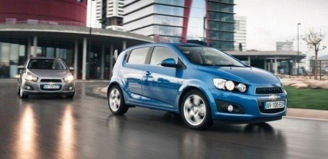 До России добрался новый хэтчбек Chevrolet Aveo