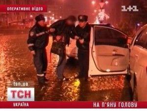 В Донецке едва словили опьяненного мажора на VIP-авто