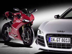 Организация Ауди приобрела компании-производителя байков Ducati