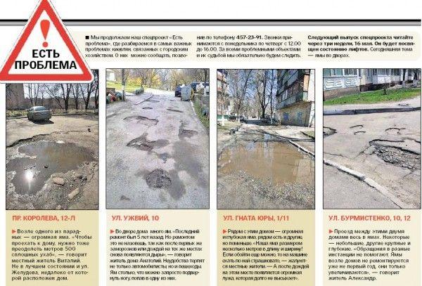 Небывалые ямы Киева: где рискованно идти и двигаться