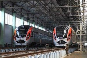 Поезд Хендай из-за проблем не вышел в путь из Харькова в Киев