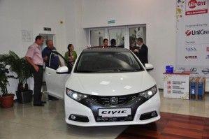 Официальный представитель Хонда «ВиДи Дрим Моторз» отметил 4-ю годовщину работы