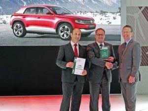 Фольксваген Кросс Купе обрел премию «eCar Award 2012»