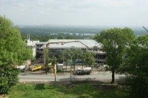 В Киеве раскрыли вертодром Януковича