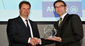 Награда Allianz Genius 2012 за безопасность присуждена Форд