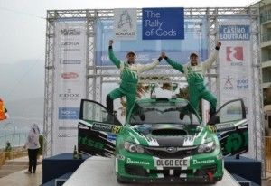 Ю. Протасов стал победителем авто-ралли Аcropoils в группе Rally Class на Субару STI
