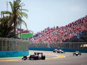 Автогонка Формулы-1 в Валенсии оставила хладнокровными испанских болельщиков