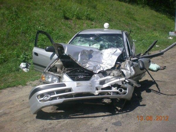 Умер автолюбитель быстрой, столкнувшейся с Хендай