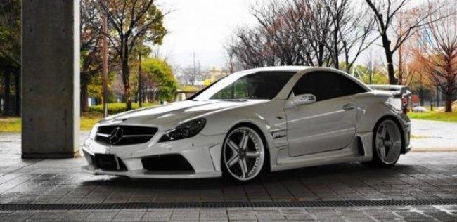 Японцы совершенствуют Mercedes SL55 AMG