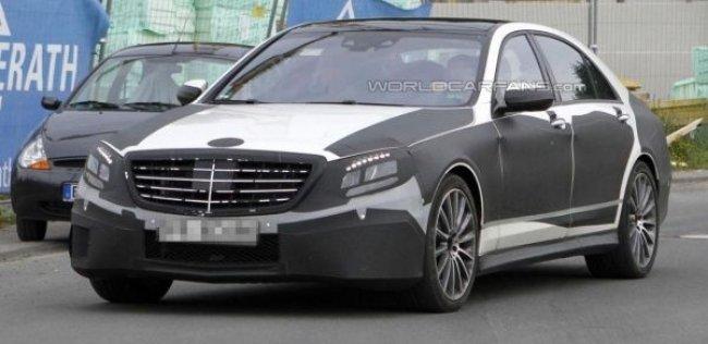 Тестеры Mercedes-Benz объезжают S63 AMG