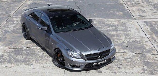 Mercedes-Benz CLS 63 AMG усовершенствовали