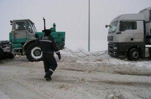 Трассу Одесса-Киев расчистили от льда и сугробов