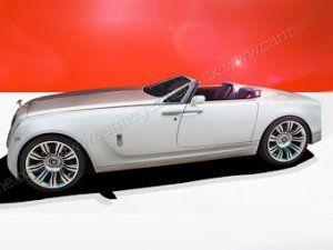 Rolls-Royce захотел выпустить родстер с мотором V16