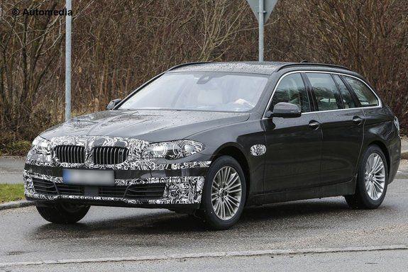 Прототип обновленного универсала BMW 5-й серии Touring