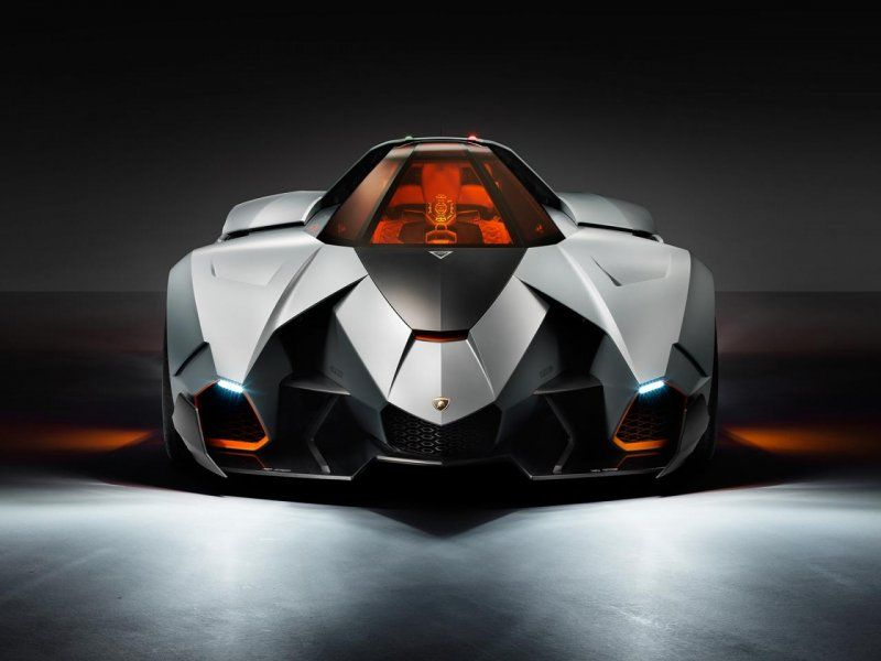 Новый концепт-кар Lamborghini к 50-летию компании