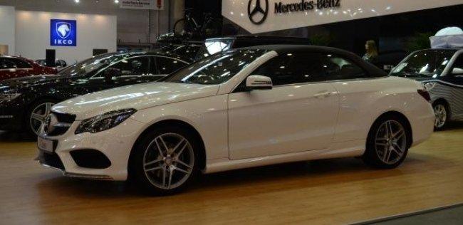 SIA'2013. Новый E-Class на стенде Mercedes-Benz