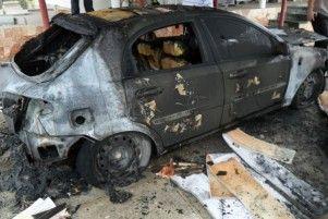 В Крыму после опасностей сожгли авто корреспондента