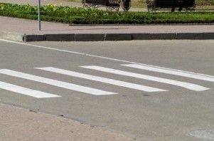 В Киеве на пешеходном проходе авто госохраны сшиб женщину