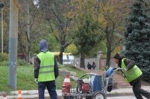 В Кировограде никого не бросают на отремонтированные автодороги для Януковича