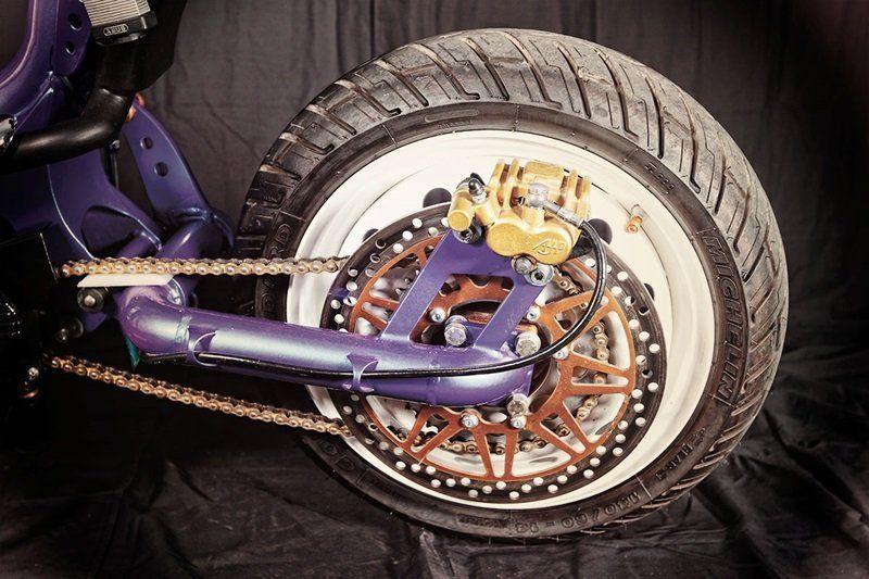 Задний маятник мотоцикла своими руками 89