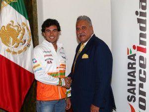 Force India доказала договор с Серхио Пересом