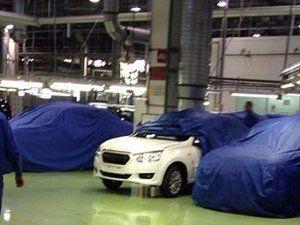Отечественный Datsun засняли на «АвтоВАЗе»