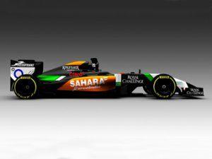 Force India первой из команд Ф-1 продемонстрировала свежую автомашину