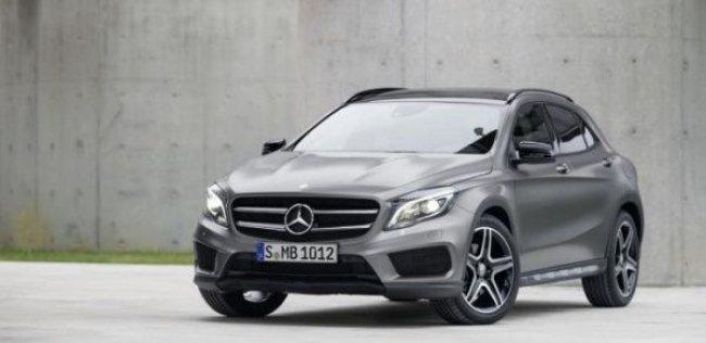 Mercedes-Benz GLA-класса обернется трехдверным кросс-купе