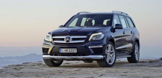Mercedes-Benz GL-класса получит новый двигатель