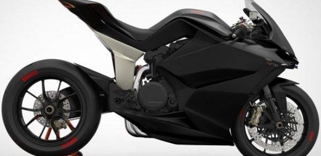 Концепт супербайка Ducati Panigale Curva 1190