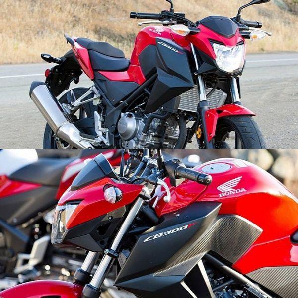 Нейкед Honda CB300F представлен