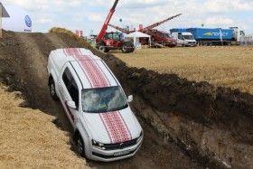Volkswagen Amarok – між небом і землею