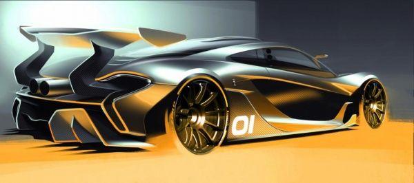 McLaren поделился первым изображением 1000-сильного гибрида