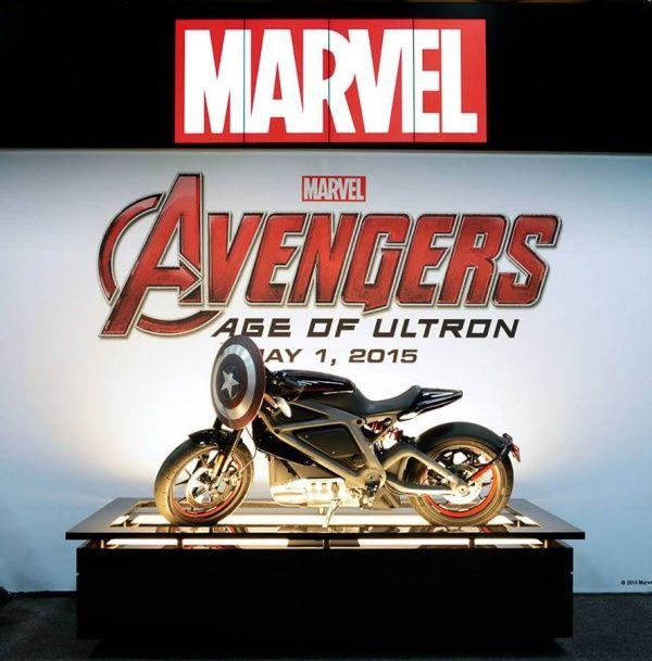 Harley-Davidson снимутся в «Мстители: Эра Альтрона»