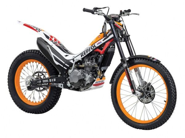 Honda: два новых триальных мотоцикла