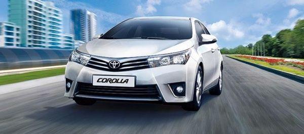 Toyota Corolla, Toyota RAV4 и Toyota Camry 2014 г