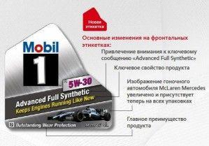 «НИКО Трейдинг» сообщает об изменении фирменной этикетки Mobil 1
