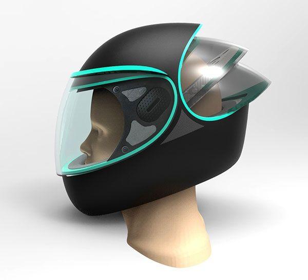 Концепт дождевого шлема