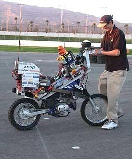 Google готовит тест беспилотного мотоцикла