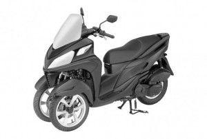 Yamaha может добавить Т-Max «третью ногу»
