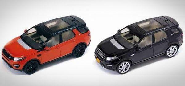Внешность Land Rover Discovery Sport раскрыли с помощью игрушек