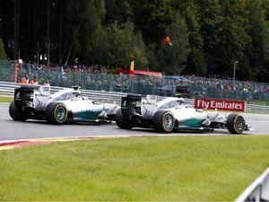 Росберг извинился за столкновение с Хэмилтоном на Гран-при Бельгии