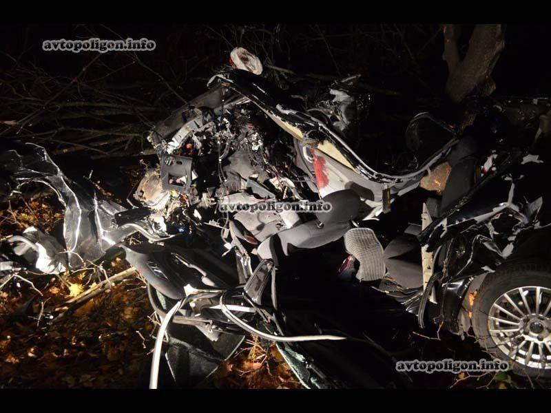 авария в харькове 18 октября skoda superb