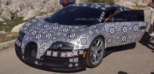 Bugatti превратит Veyron в спидстер