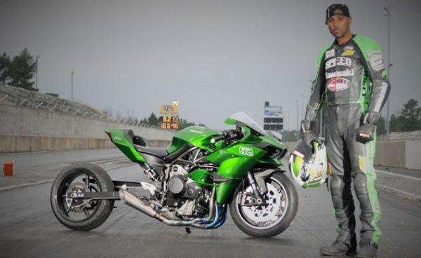 Драг-байк Kawasaki Ninja H2 Gadson